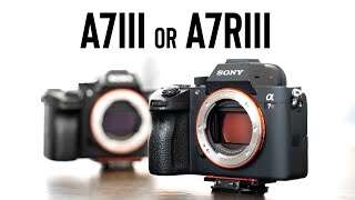 SONY A7III vs A7RIII | Which Full Frame Mirrorless Camera should you buy?