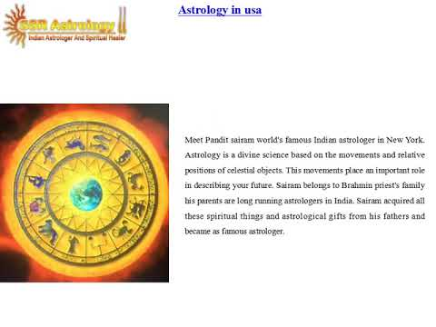 Astrology in usa