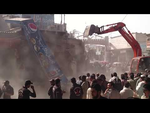 ORANGI TOWN BANARAS MARKET Anti-Encroachment Grand Operation Karachi