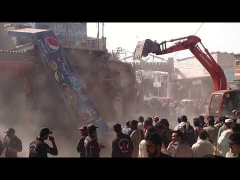 ORANGI TOWN BANARAS MARKET Anti-Encroachment Grand Operation Karachi