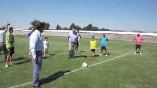 Ayuntamiento Segovia. Inauguración campo fútbol 7 en Madrona 4/9/2013 (1)
