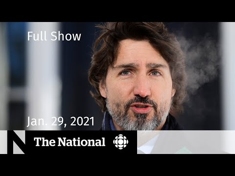 CBC News: The National    Canada cracks down on travel abroad   Jan. 29, 2021