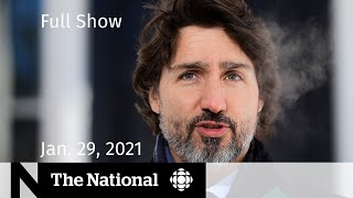 CBC News: The National  | Canada cracks down on travel abroad | Jan. 29, 2021