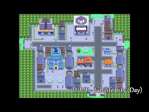 All Pokemon Game Themes - Towns & Cities