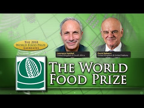 2018 World Food Prize