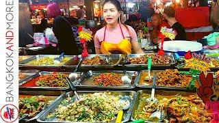Thailand Pattaya Night Market - The Tepprasit Road Night Market