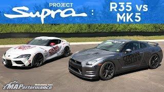Nissan GTR vs 2020 Toyota Supra | R35 vs MK5