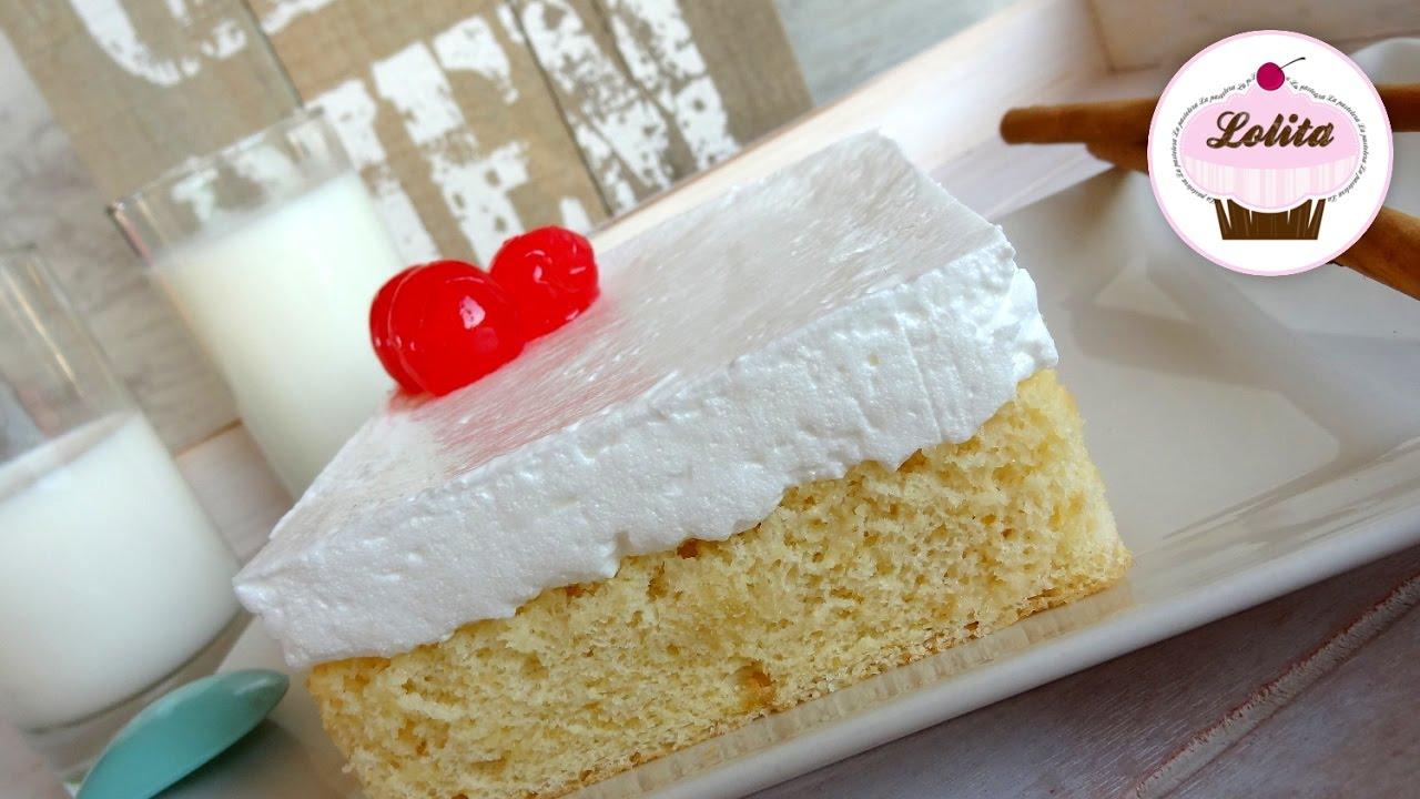 como hacer un pastel tres leches casero