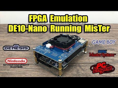 FPGA Emulation MisTer Project On The Terasic DE10-Nano