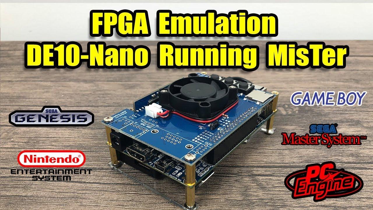 FPGA Emulation MisTer Project On The Terasic DE10-Nano by ETA PRIME