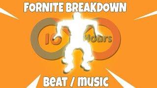 Fortnite - Breakdown Emote (Beat) 10 HOURS