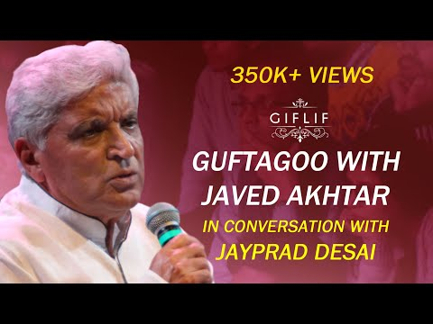 Javed Akhtar in conversation at GIFLIF