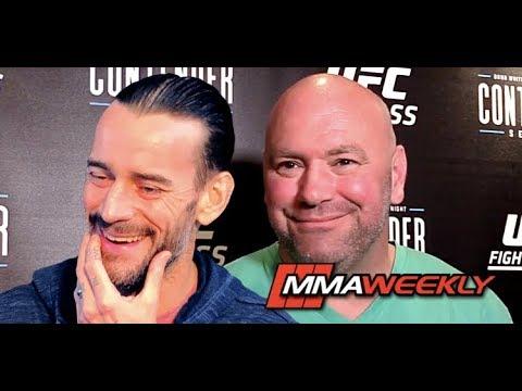Does Dana White Regret Having CM Punk in UFC, Rips Michael Jackson  (Contender Season 2)