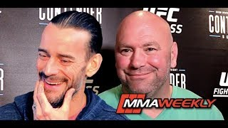 Does Dana White Regret Having CM Punk in UFC, Rips Michael Jackson  (Contender Season 2)