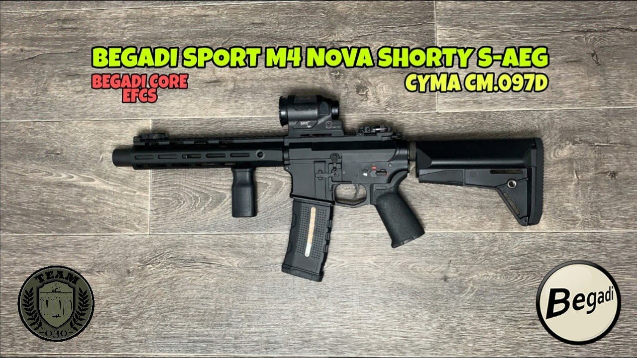 [REVIEW] BEGADI SPORT M4 NOVA SHORTY S-AEG