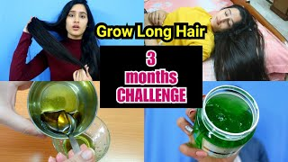 TEENAGERS COMPLETE HAIRCARE ROUTINE - Get Extremely Long Hair In 3 Months | Tried and tested
