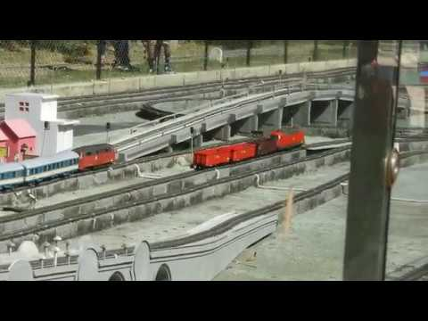 Small Train Model at National Rail Museum Delhi