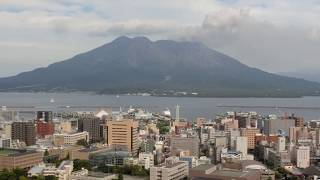 Kagoshima city and Sakurajima from Shiroyama 2 thumbnail
