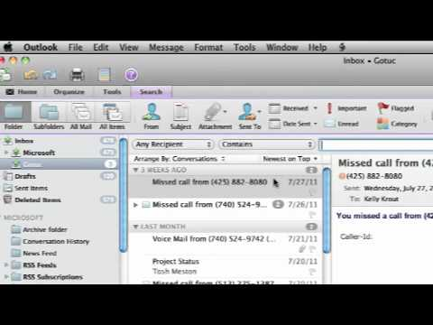 Search In Outlook For Mac 2011