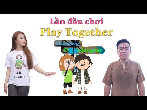 Pháp Sư Gangster và Chara Lần Đầu Chơi Game Play Together