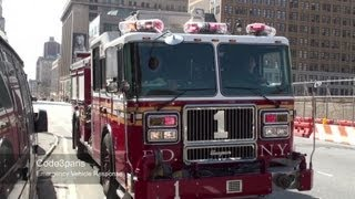 FDNY Engine 1 Arriving on Scene