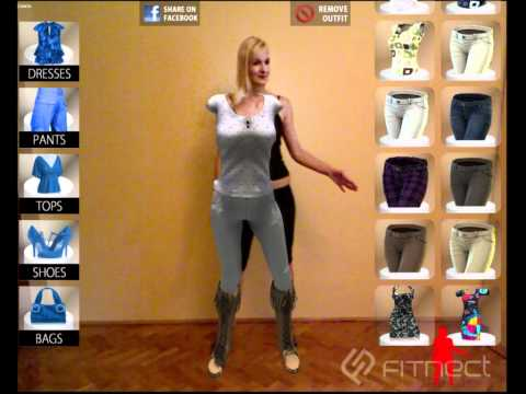 Fitnect - Interactive Virtual Fitting / DressingRoom application