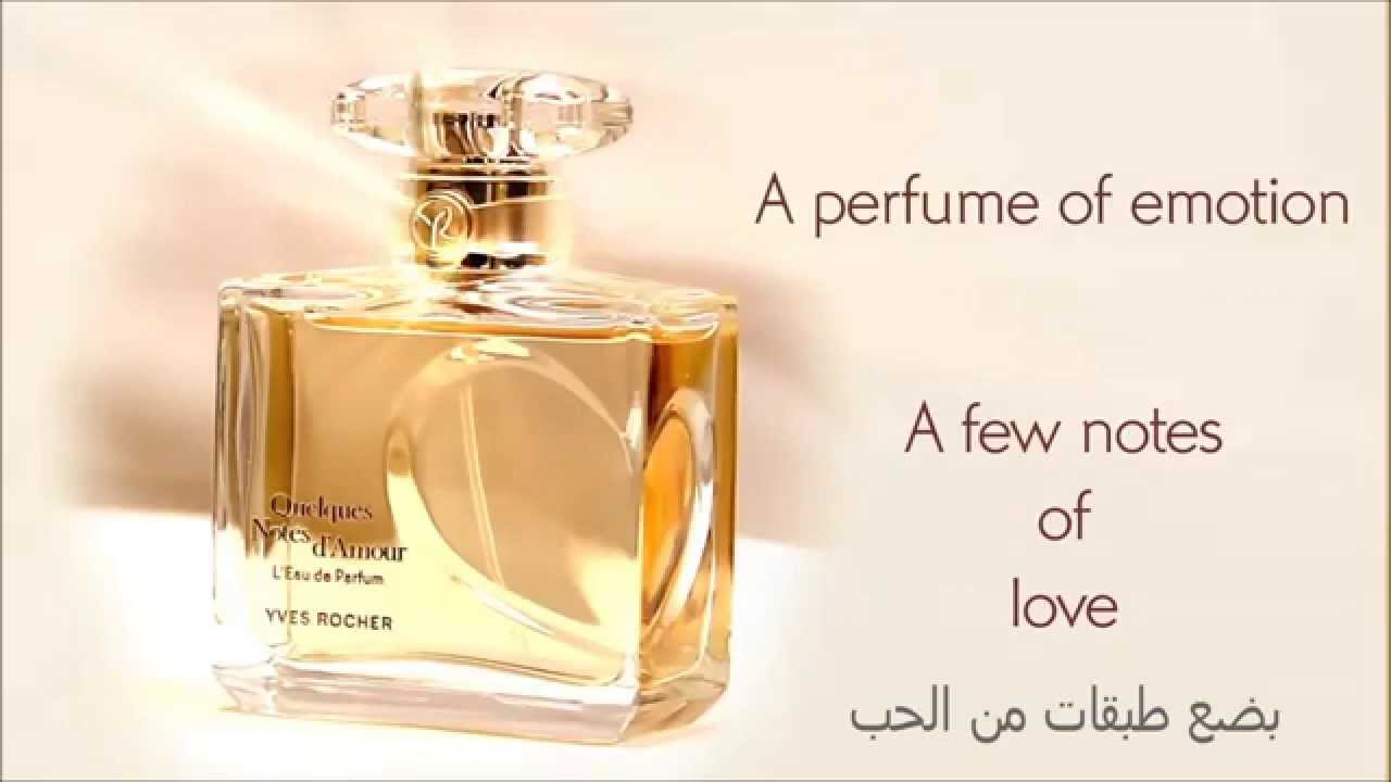 01dd56aea Notes De' Amour Perfume - YouTube