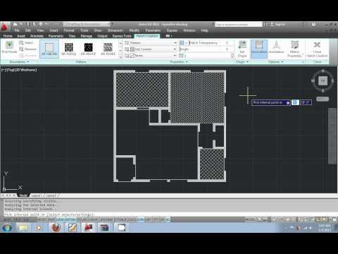 AutoCAD 2012 urdu tutorial part10 - Hatch Patterns