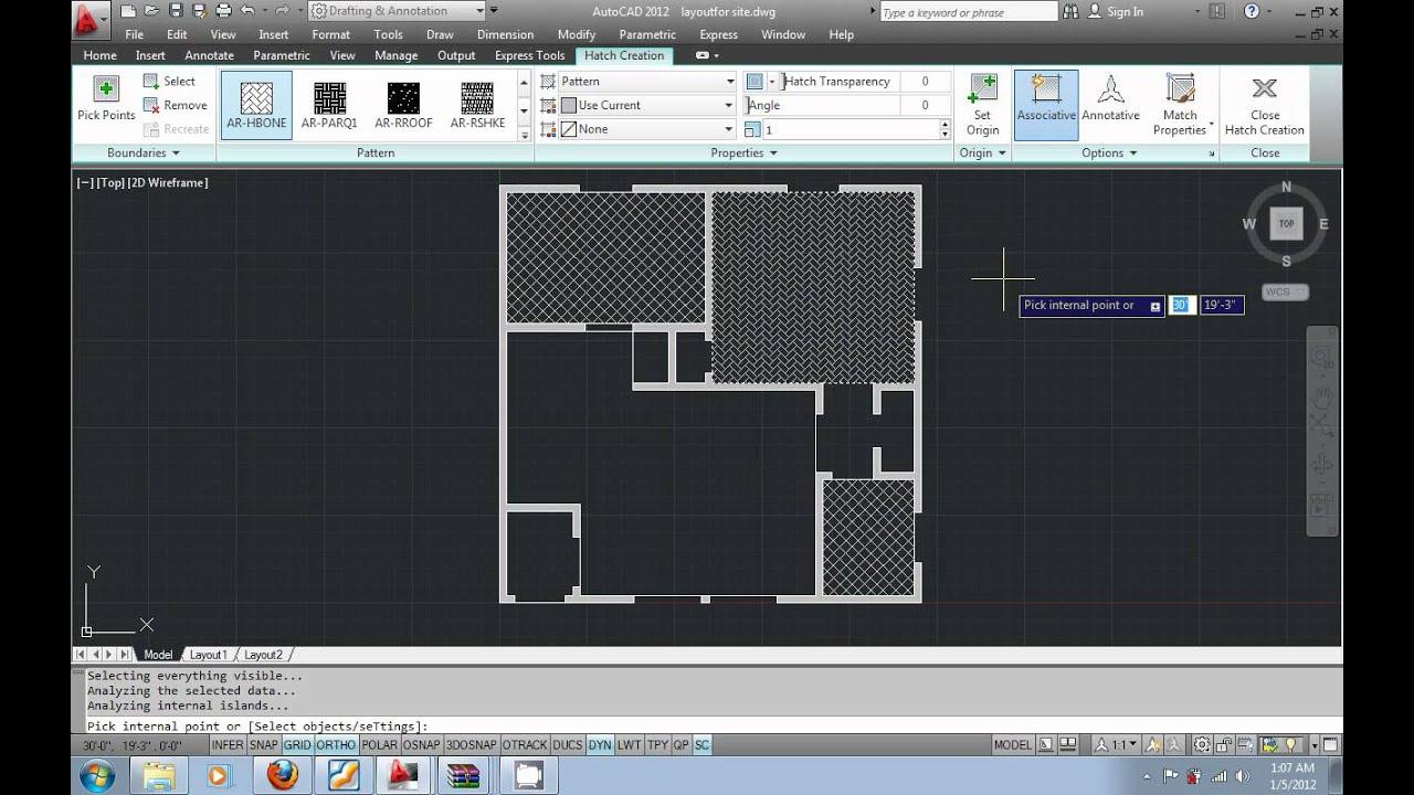 Floor Tile Hatch Patterns For Autocad