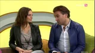 Musicalstars Pia Douwes und Uwe Kröger zu Gast bei Café Puls