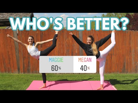 Who Did The Gymnastics Skill Better?