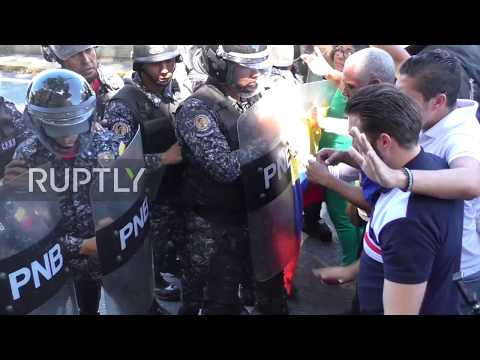 Venezuela: Police Disperse Opposition Protests In Caracas