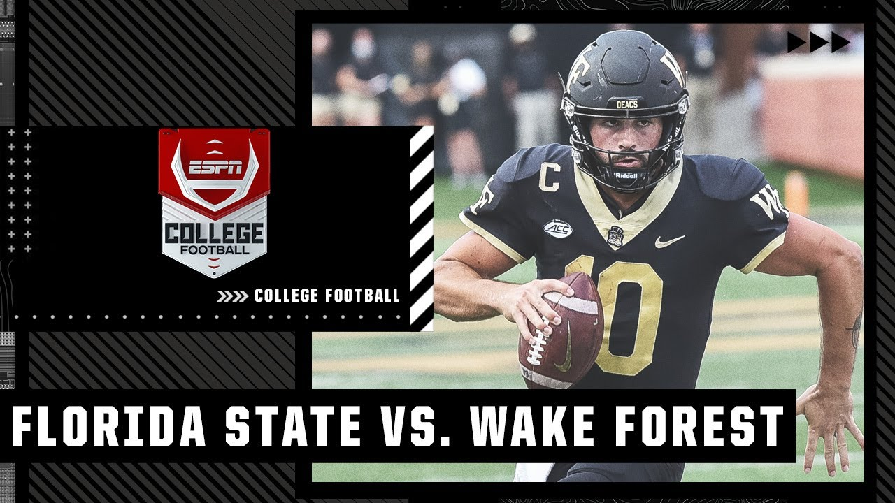 Florida State Seminoles at Wake Forest Demon Deacons | Full Game Highlights