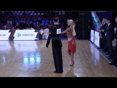 German Pugachev - Ariadna Tishova RUS, Samba | ROC 2018 WDSF Open Youth Latin