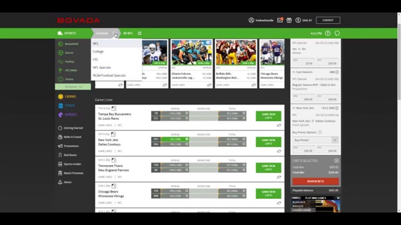 Online betting nfl legal supplements premier betting online