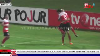 Video Gol Pertandingan Madura United vs Semen Padang FC