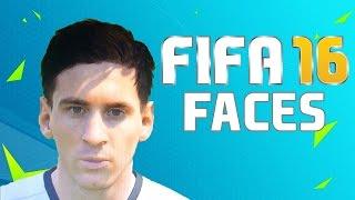 FIFA 16 FACES - MESSI, CRISTIANO RONALDO, NEYMAR, BALE e OUTROS