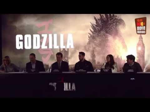 Godzilla | official Press Conference London (2014) Bryan Cranston