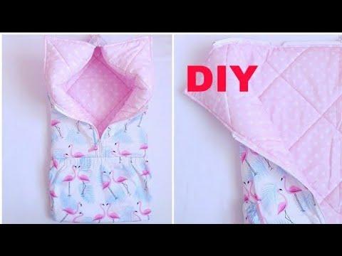 Как сшить одеяло трансформер для новорожденного