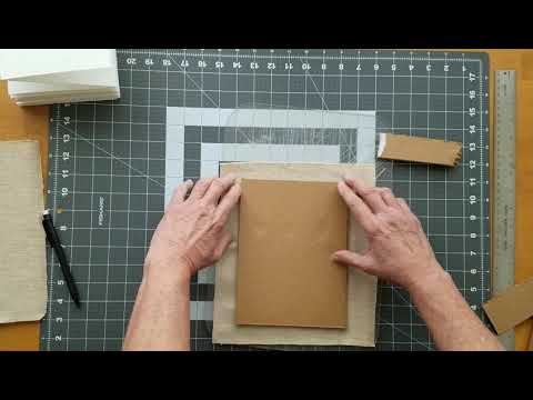 DIY Watercolor Sketchbook (Accordion Style) no sewing, stapling or taping