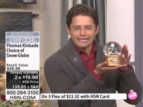 Thomas Kinkade Snow Globes