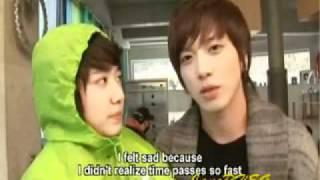 Shin Hye & Yong Hwa: YB BTS