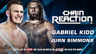 Jurn Simmons Seeks To Destroy Gabriel Kidd This Sunday LIVE On PPV!