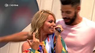 Michelle - In 80 Küssen um die Welt - ZDF Fernsehgarten 24.06.2018