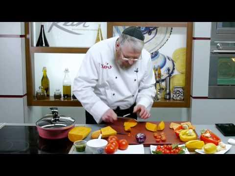 салат из баклажанов и помидоров, рецепт приготовления