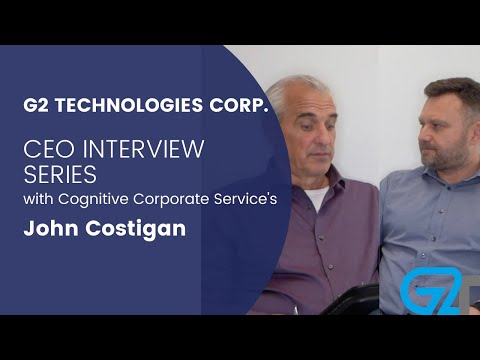 G2 Technologies Corp. (G2.Energy) Private Placement Intervie