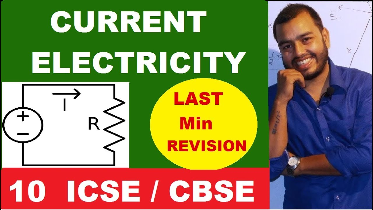 ICSE/CBSE: CLASS10th: Current Electricity: Equivalent Resistance: Circuit  Solving: Revision