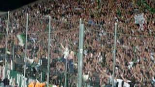 St Etienne / Bordeaux - Ambiance but fin de match incident [03/10/09]