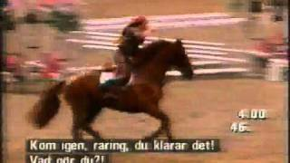 Malin Baryard o Lisen Bratt @ Stockholm Horse show 2000