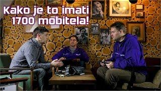 INTERVJU: Krunoslav Ćosić - kako je to kada imate više od 1.700 mobitela :)